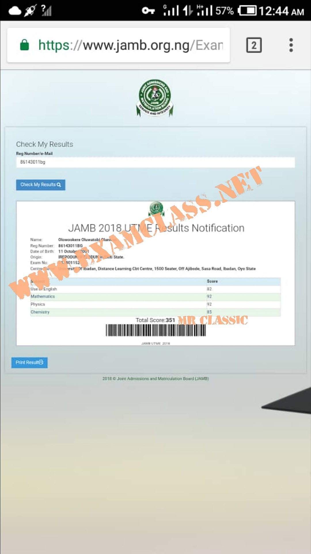 2021 BEST JAMB QUESTIONS & ANSWERS EXPO RUNS CHOKES UTME SITE-SCORE 320+